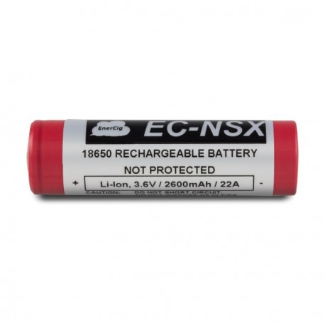 Accu 18650 Enercig EC-NSX 2600mAh 22A